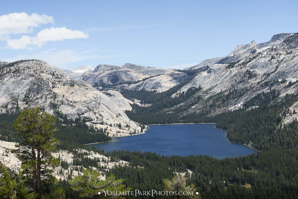 Tenaya Lake & Granite Valley View From Above, Taken from near Olmsted Point - Tioga Road Photos