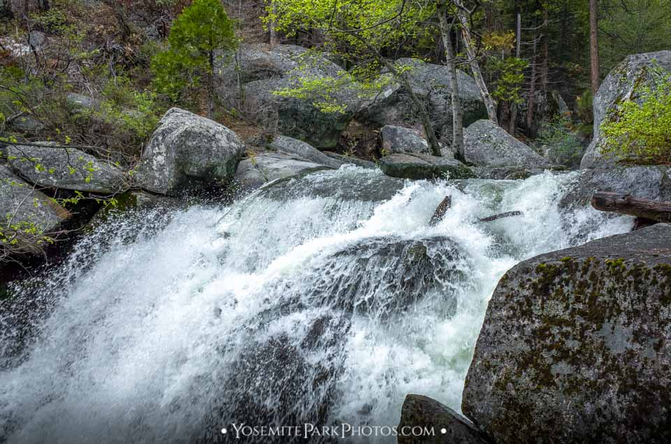 Alder Creek Waterfall - Flowing Heavy in Late Spring
