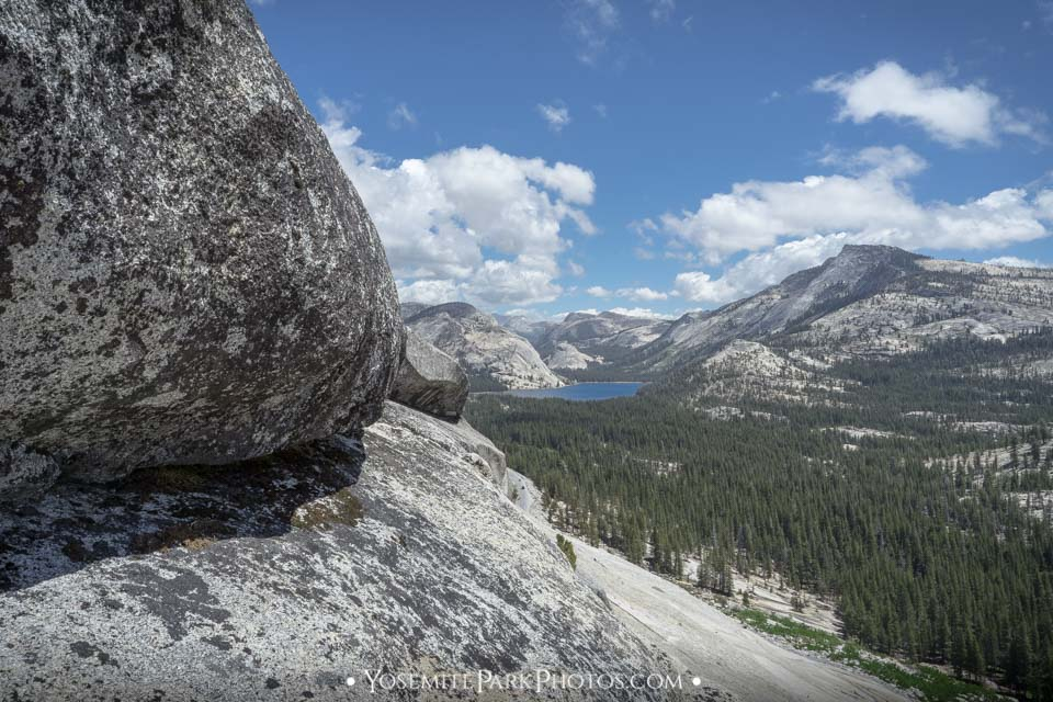 Tenaya Lake and Surrounding Granite Mountains, Taken From above Olmsted Point, Tioga Pass