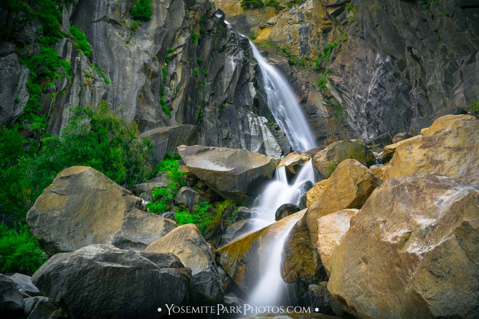 Lower Cascade Falls, near Merced River and Highway 41